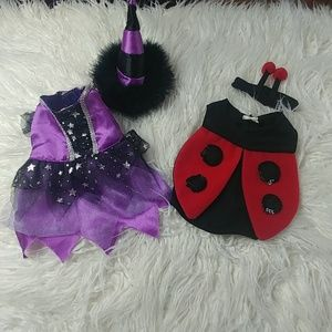 Two doggy costumes
